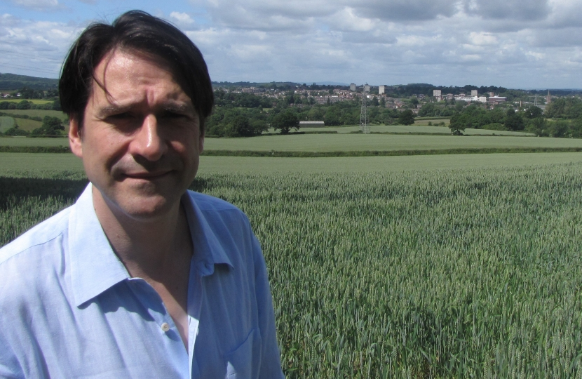 James Morris MP is passionate about preseroing Halesowen's greenbelt