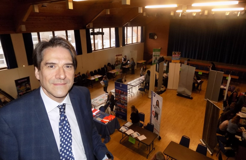 James Morris MP has organised 11 jobs and skills events